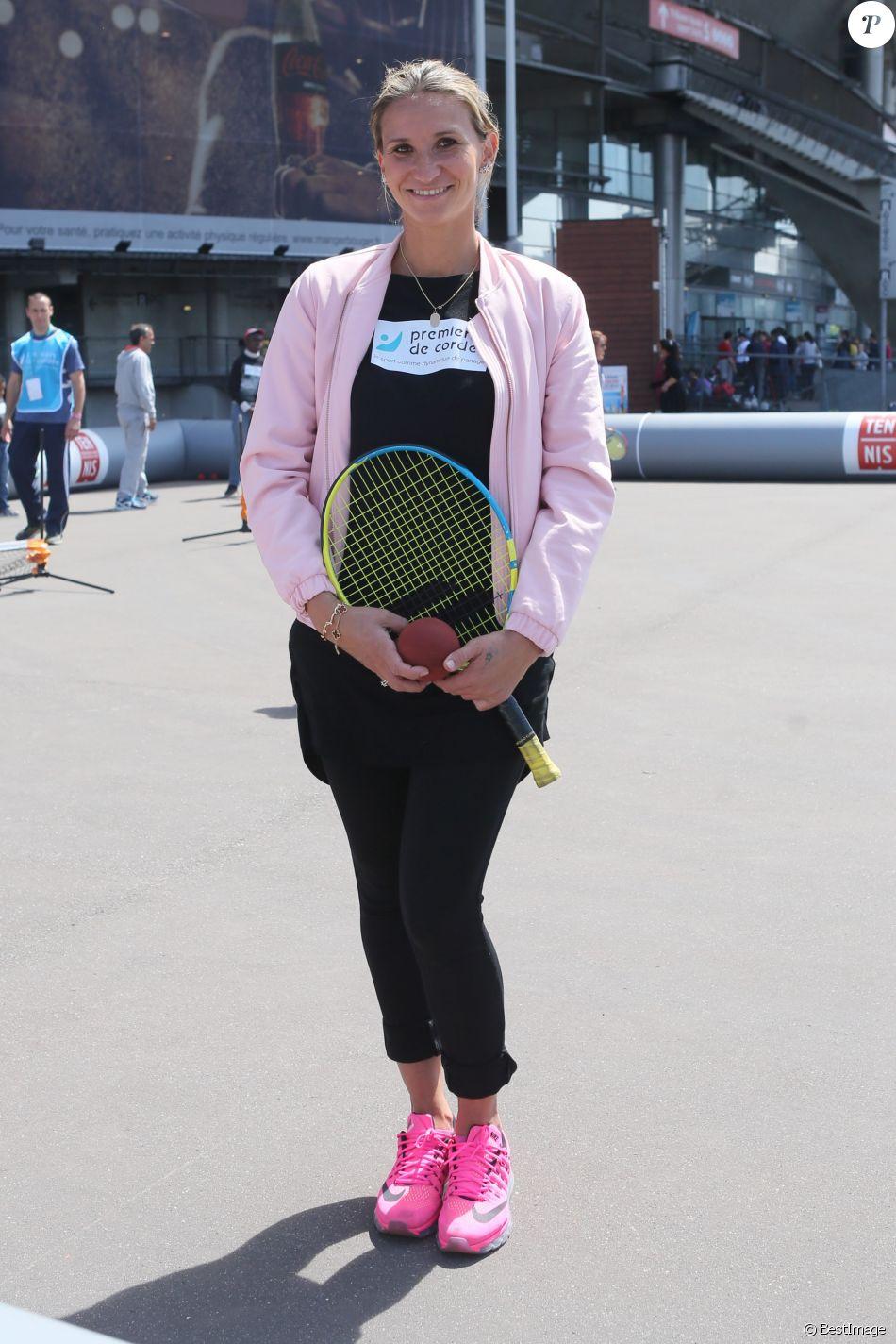 Tatiana Golovin - Journée Evasion au Stade de France à Saint Denis pour soutenir la candidature olympique et paralympique 2024, le 10 mai 2017. © CVS/Bestimage