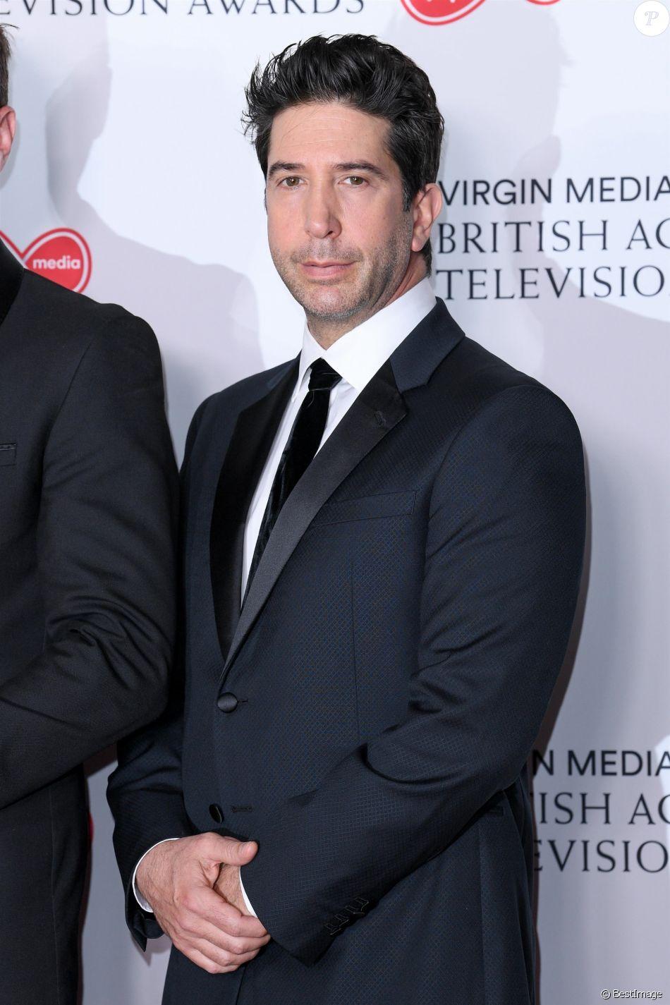 David Schwimmer - Arrivées des British Academy Television Awards à Londres le 12 mai 2019.