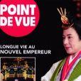 """Cécilia Attias et son fils Louis Sarkozy dans le magazine """"Point de vue"""" du 30 octobre 2019."""