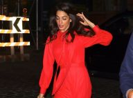 Amal Clooney : Accident de chaussure en pleine rue, elle a frôlé la chute !