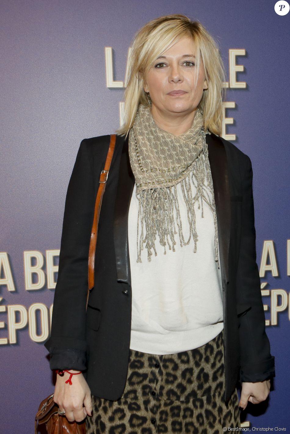 """Flavie Flament - Avant-première du film """"La belle époque"""" au Gaumont Capucines à Paris, le 17 octobre 2019. © Christophe Clovis / Bestimage"""