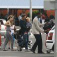 Mark Owen et sa famille en vacances à l'île Maurice