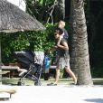 Une famille comme les autres en vacances à l'île Maurice