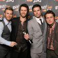 Le groupe Take That version 2008