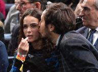 Vianney et sa compagne Catherine amoureux complices pour le sacre de Djokovic