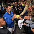 Novak Djokovic remporte le Rolex Paris Masters à Paris le 3 novembre 2019. © Veeren - Perusseau / Bestimage