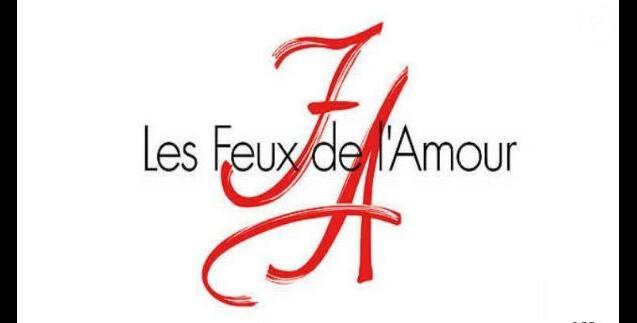 """""""Les Feux de l'amour"""", logo officiel de la série"""
