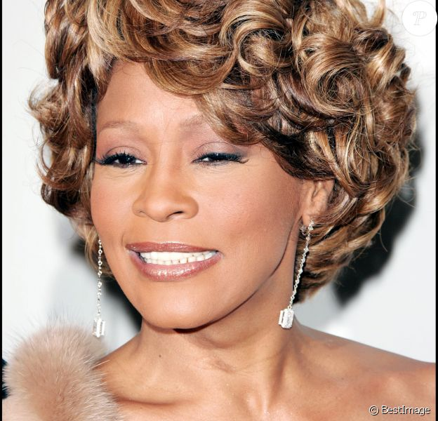 Whitney Houston aux Grammy Awards en 2007 à Beverly Hills.