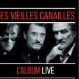 CD Les Vieilles Canailles l'album live, paru le 8 novembre 2019