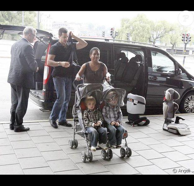 Britney Spears quitte la Suède avec ses enfants Sean Preston et Jayden James, 4 et 3 ans