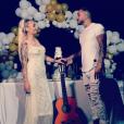 Vivian  Grimigni  et Beverly Bello sur Instagram le 23 août 2019.