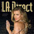 La belle Joanna Krupa en couverture de L.A. Direct !