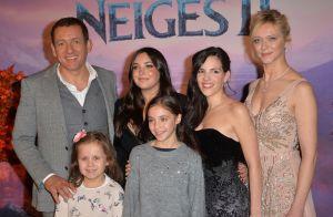 Valérie Damidot et sa fille Roxane : Tendres bisous devant La Reine des Neiges 2