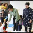 Exclusif - Rachida Dati - Déplacement de Rachida Dati sur des thématiques liées à l'Enfance et à la Famille à Paris à la Maison des Assistantes maternelles du 8ème, le 8 novembre 2019. © Alain Guizard/Bestimage