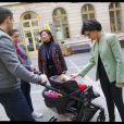 Exclusif - Rachida Dati et Jeanne d'Hauteserre (Maire du 8ème arrondissement de Paris) - Déplacement de Rachida Dati sur des thématiques liées à l'Enfance et à la Famille à Paris à l'Espace Beaujon à Paris, le 8 novembre 2019. © Alain Guizard/Bestimage