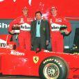Michael Schumacher à Maranello, en Italie le 10 janvier 1997