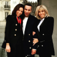 Olivier Rousteing et la réalisatrice Anissa Bonnefont ont été reçus au Palais de l'Élysée par Brigitte Macron, l'épouse du président de la République, Emmanuel Macron. Le 15 novembre 2019.