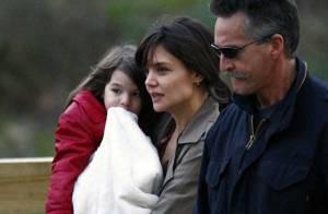 Katie Holmes et son adorable Suri... échappées de leur maison hantée en Australie !