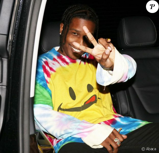A$AP Rocky à Milan, le 20 septembre 2019.