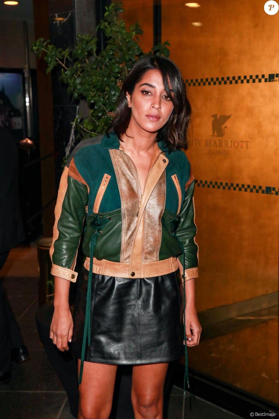 Leila Bekhti - Les célébrités arrivent à la soirée Louis