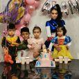 Georgina Rodriguez, la compagne de Cristiano Ronaldo, a publié une photo en famille à l'occasion de l'anniversaire de leur fille Alana Martina. Elle a eu 2 ans le 12 novembre 2019.