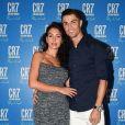 Georgina Rodriguez et Cristiano Ronaldo. Septembre 2019.