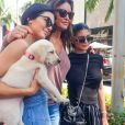 Exclusif - Kendall et Kylie Jenner passent la journée avec Caitlyn Jenner pour la fête des pères à Beverly Hills le 18 juin 2017.