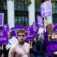 Marie Benoliel (Marie s'infiltre) - Marche contre les violences sexistes et sexuelles (marche organisée par le collectif NousToutes) de place de l'Opéra jusqu'à la place de la Nation à Paris le 23 novembre 2019.