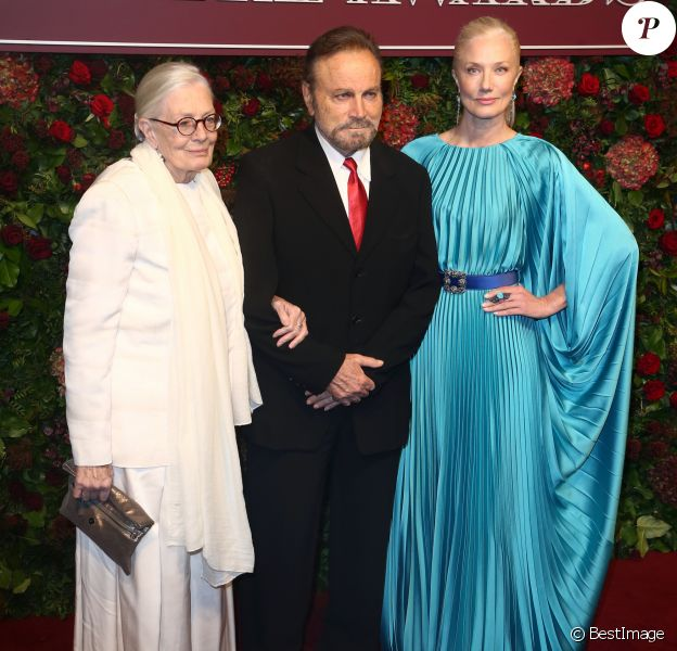 "Vanessa Redgrave, Franco Nero et Joely Richardson assistent aux ""Evening Standard Awards"" au London Coliseum à Londres, le 24 novembre 2019."
