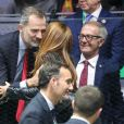 Le roi Felipe VI d'Espagne et Shakira - Le roi Felipe VI d'Espagne assiste à la finale de la Coupe Davis à Madrid, le 24 novembre 2019.