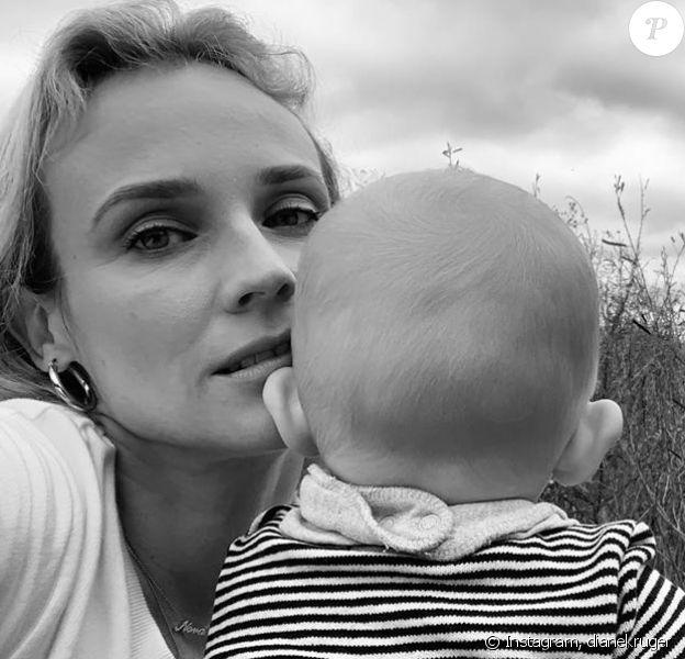 Diane Kruger a partagé une nouvelle photo de sa petite fille (11 mois), le 23 octobre 2019 sur Instagram.