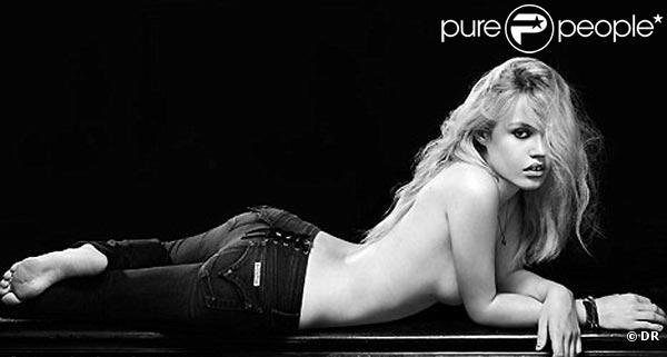 Georgia May Jagger, sublime pour les jeans Hudson !