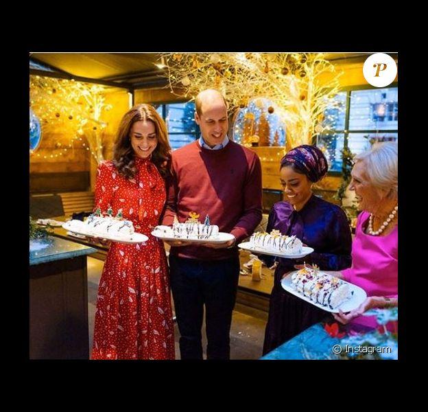 Kate et William le 30 novembre 2019 sur Instagram.