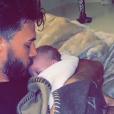 Nabilla avec son fils Milann sur Snapchat - 1er décembre 2019