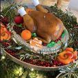 Le créateur Tommy Hilfiger et son épouse Dee ont offert à Kris Jenner un gâteau pour Thanksgiving. Novembre 2019.