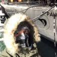 Hugo Clément fait route vers l'Arctique, sur Instagram le 2 décembre 2019.