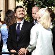 Katy Perry et son fiancé Orlando Bloom - Les invités arrivent au mariage de Ellie Goulding et Caspar Jopling en la cathédrale d'York, le 31 août 2019