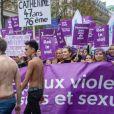 Marie Benoliel (Marie s'infiltre) - Marche contre les violences sexistes et sexuelles (marche organisée par le collectif NousToutes) à Paris le 23 novembre 2019.