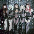 """Les Pussycat Dolls interprètent leur nouveau single, """"React"""", dans l'émission """"The X Factor: Celebrity"""". Décembre 2019."""