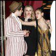 Tallulah Belle, 15 ans, assiste aux 18 ans de sa soeur Scout LaRue, au restaurant Cicada, à Los Angeles. 17/07/09