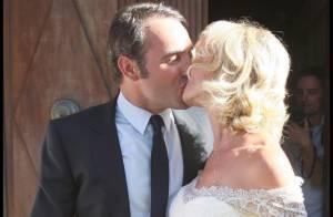 Jean Dujardin et Alexandra Lamy : Revivez en images le mariage de ce gars et de cette fille... pas comme les autres !