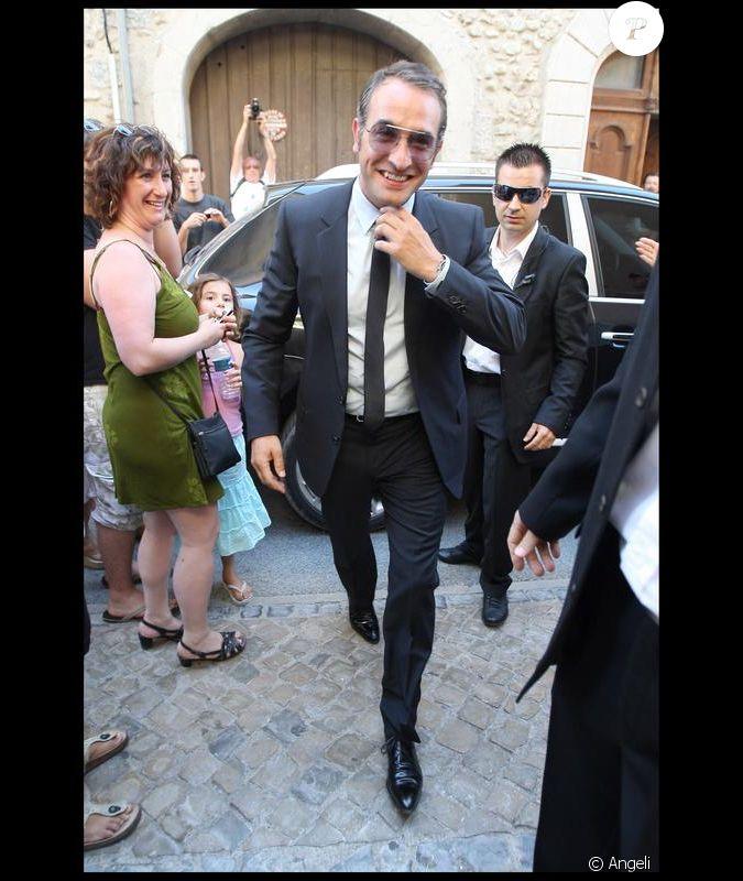 Jean dujardin son mariage le 25 juillet 2009 for Enfants de jean dujardin