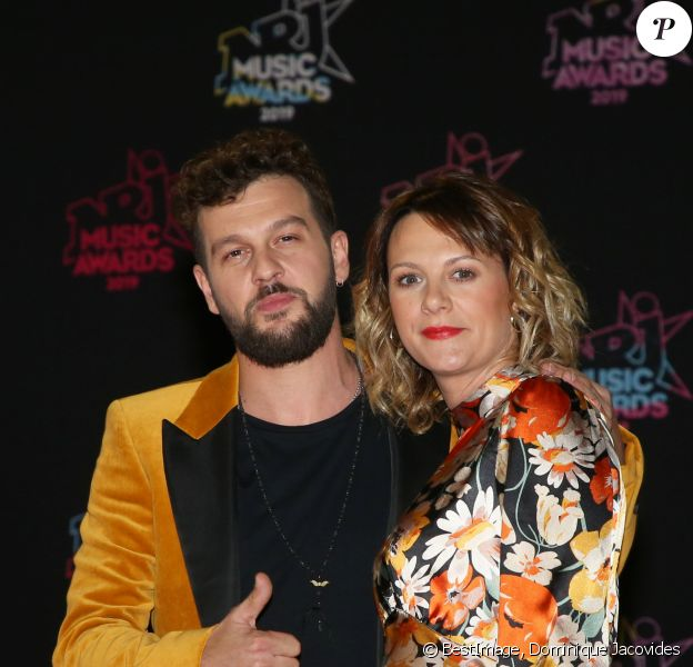 Claudio Capéo et sa compagne Aurélie Willgallis - 21e édition des NRJ Music Awards au Palais des festivals à Cannes le 9 novembre 2019. © Dominique Jacovides/Bestimage