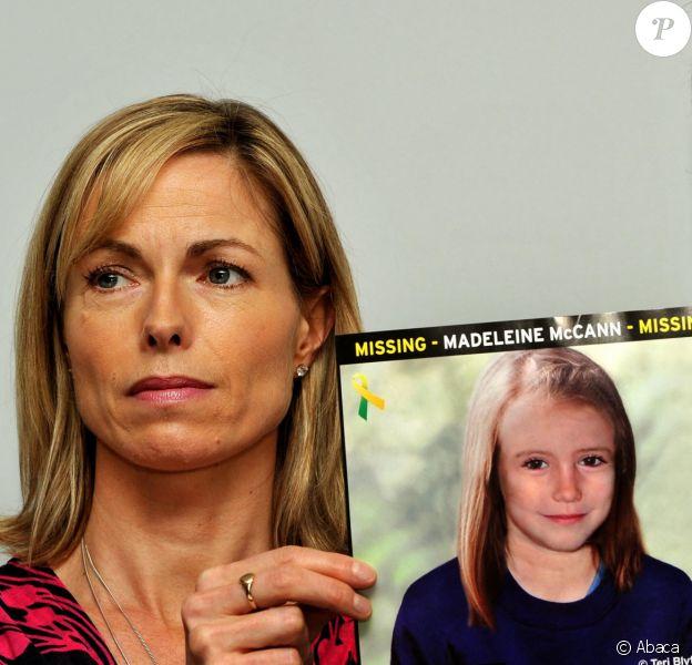 Kate et Gerry McCann font une conference de presse à Londres le 2 mai 2012.