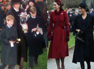 Diana, Kate Middleton, Meghan Markle... Retour sur le Noël royal en images