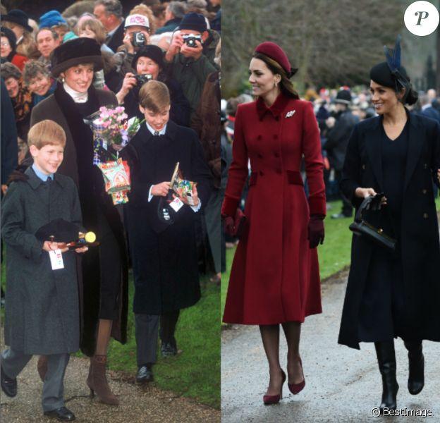Chaque année, la famille royale se retrouve à Sandringham, dans le Norfolk, pour la traditionnelle messe de Noël à l'église St Mary Magdalene.