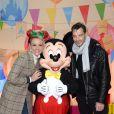 Exclusif - Elodie Gossuin et son mari Bertrand Lacherie - Célébration des 90 ans de magie avec Mickey à Disneyand Paris le 17 novembre 2018. La nouvelle saison de Noël célèbrera 90 ans de fun avec Mickey du 10 novembre 2018 au 6 janvier 2019. © Veeren/Bestimage