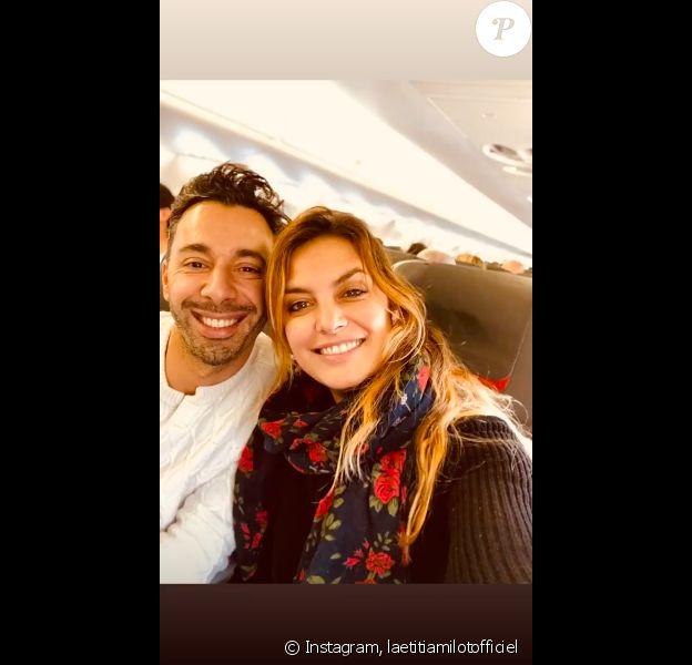 Laetitia Milot et son chéri Badri s'apprêtent à partir en voyage, sur Instagram, le 16 décembre 2019.