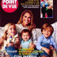 """Madeleine de Suède dans le magazine """"Point de vue"""" du le 18 décembre 2019."""