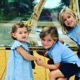 Les trois enfants de la princesse Madeleine de Suède, Leonore, Nicolas et Adrienne, sur Instagram, octobre 2019.
